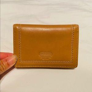 NEW Coach Bifold Wallet